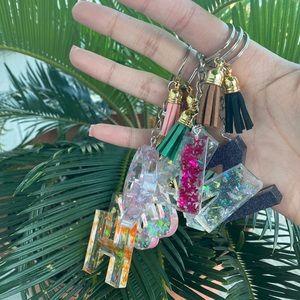 Resin Handmade Keychains